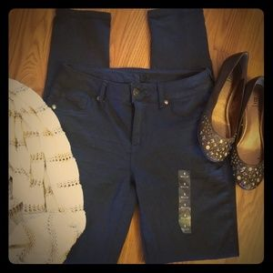 Dark Blue Leggings Size Small New Without Tags
